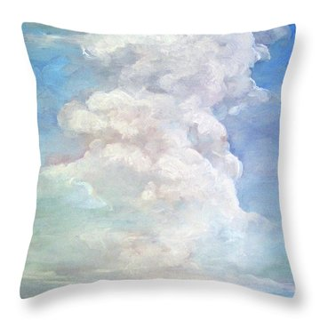 Country Sky - Painting Throw Pillow