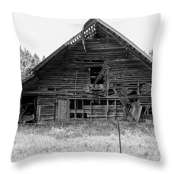 Country Treasure Bw Throw Pillow