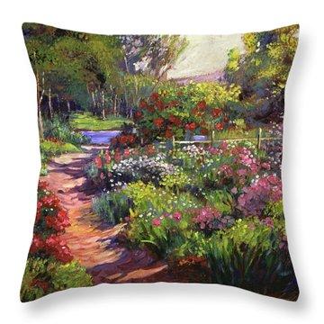 Countryside Gardens Throw Pillow