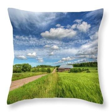 Countryside II Throw Pillow
