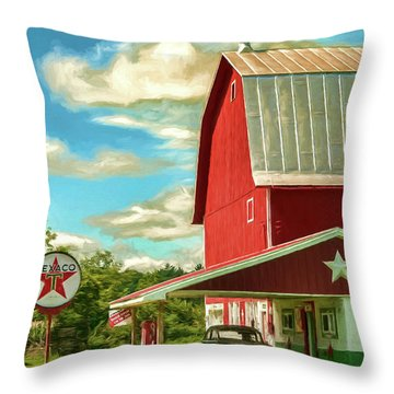 County G Classic Station Throw Pillow