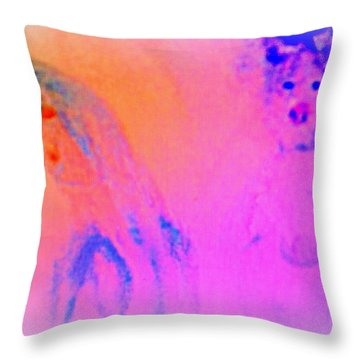Can You See Fragments Of A Couple In Love  Throw Pillow