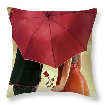 Throw Pillow featuring the photograph Couple Of Sweethearts by Carlos Caetano