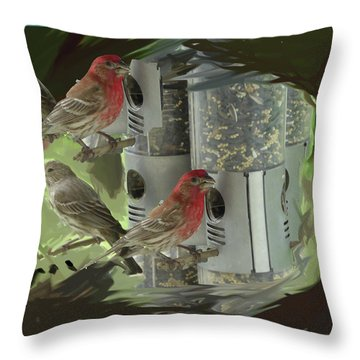 Couples Throw Pillow