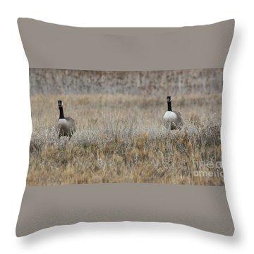 Coupling Throw Pillow
