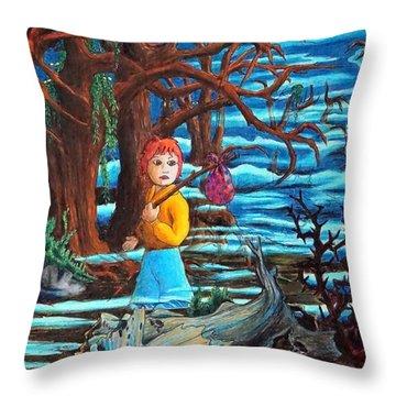Courage ... Throw Pillow
