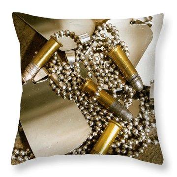 Ammunition Throw Pillows