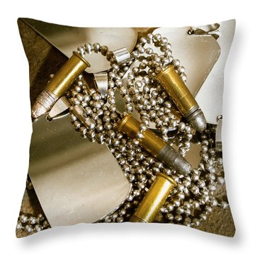Courage And Bravery Throw Pillow