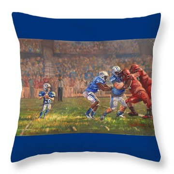 Courage To Believe Throw Pillow