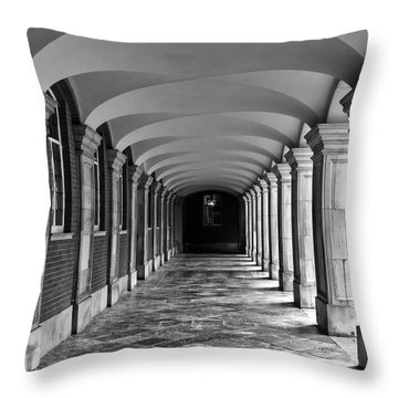 Court Cloister Throw Pillow