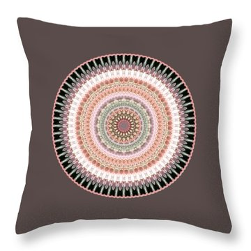 Court Of Sixty Knights Throw Pillow