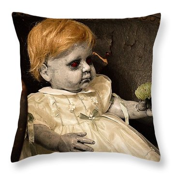 Cousin Eddy Throw Pillow