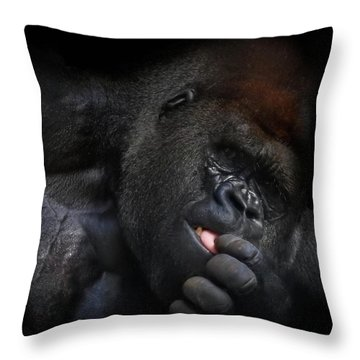 Cousin No. 24 Throw Pillow