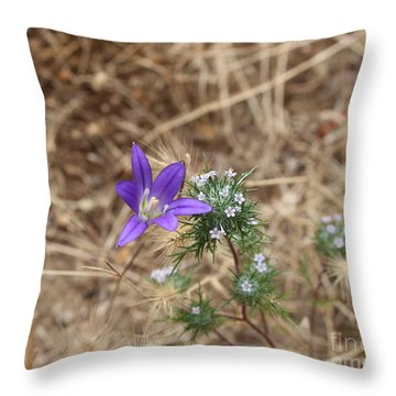 Throw Pillow featuring the photograph Cousins by Marie Neder