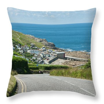 Cove Hill Sennen Cove Throw Pillow
