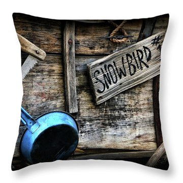 Covered Wagon Throw Pillow