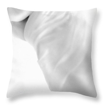 Covering The Body Throw Pillow