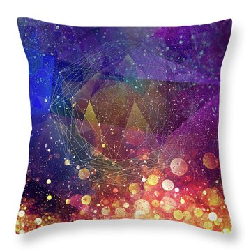 Covert Creation Throw Pillow