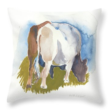 Cow I Throw Pillow