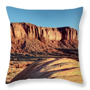 Cowboy Days Of The West Throw Pillow by Paul Cannon