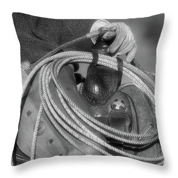Cowboy Life Throw Pillow