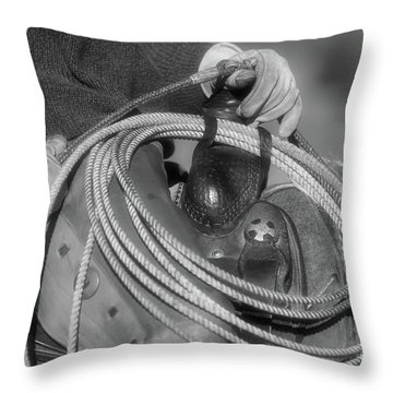 Cowboy Life Throw Pillow