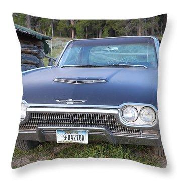 Cowboys Cadillac Throw Pillow