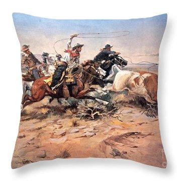 Wild West Throw Pillows