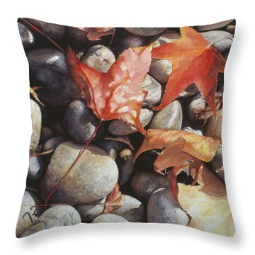 Cowper Street #1 Throw Pillow