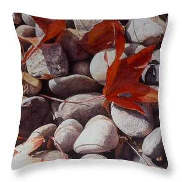 Cowper Street #2 Throw Pillow