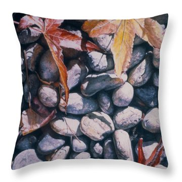 Cowper Street #3 Throw Pillow