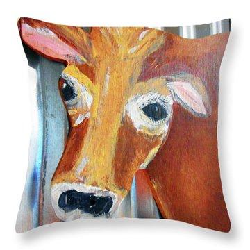 Cows 4 Throw Pillow
