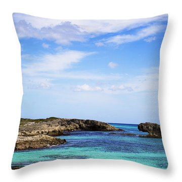 Cozumel Mexico Throw Pillow by Marlo Horne