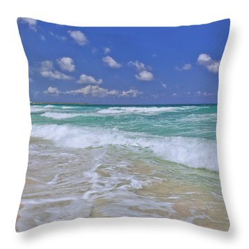 Cozumel Paradise Throw Pillow
