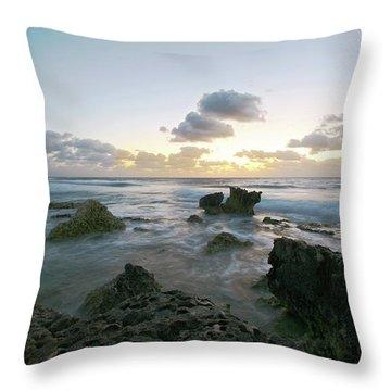 Cozumel Sunrise Throw Pillow