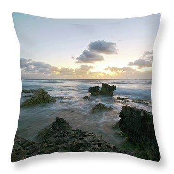 Cozumel Sunrise Throw Pillow