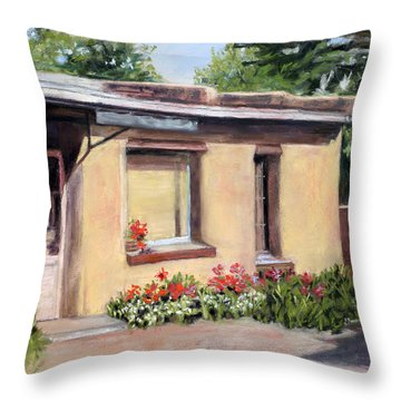Cozy Home Throw Pillow by Julie Maas