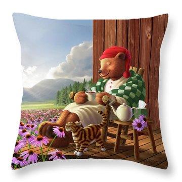 Porch Throw Pillows