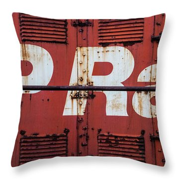 Cp Rail Throw Pillow