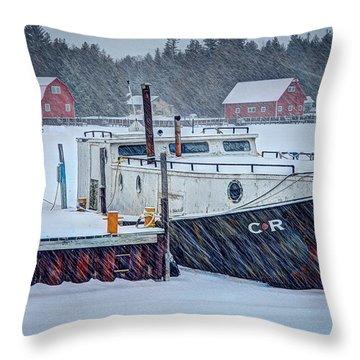 Cr Tug Throw Pillow