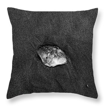 Crab Shell  Throw Pillow