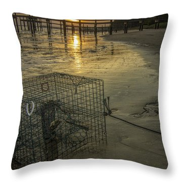 Crabtrap At Dusk Throw Pillow