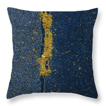Cracked #4 Throw Pillow