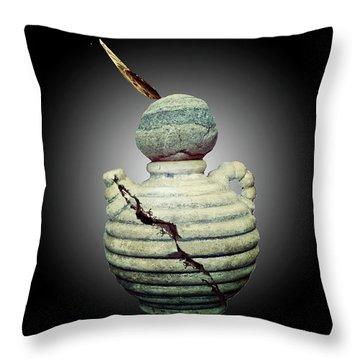 Crackpot Ninja Warrior From Maine Throw Pillow