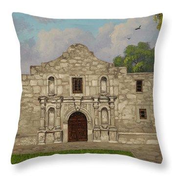 Cradle Of Texas Liberty Throw Pillow
