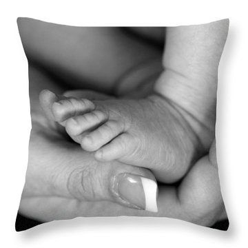 Cradled Throw Pillow