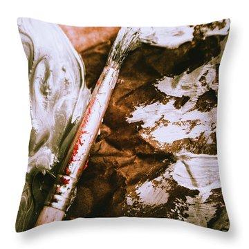 Craft And Arts Throw Pillow