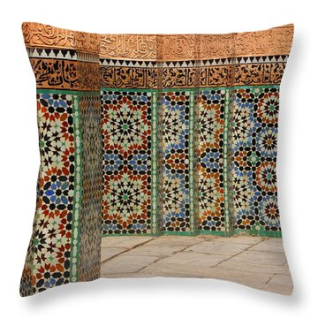 Throw Pillow featuring the photograph Craftsmanship by Ramona Johnston