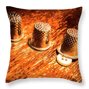 Crafty Alterations Throw Pillow