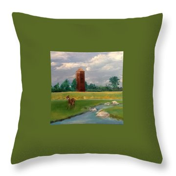 Cragburn Throw Pillow by Ellen Canfield